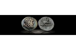 Ancient Greek Coins – Tetradrachm Celebrates Naval Victory by Doson