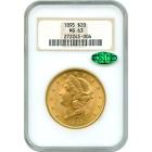 1895 $20 Liberty Head Double Eagle NGC MS63 (CAC)