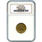 1913 5C Buffalo Nickel, Type 1 NGC PR65