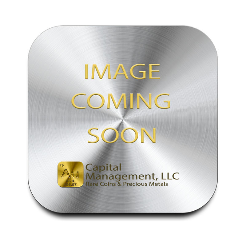 1878 $1 Morgan Silver Dollar, 7 Tail Feathers, Reverse of 1878  PCGS MS64