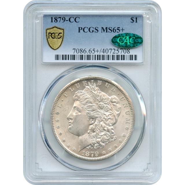 1879-CC $1 Morgan Silver Dollar PCGS MS65+ (CAC)