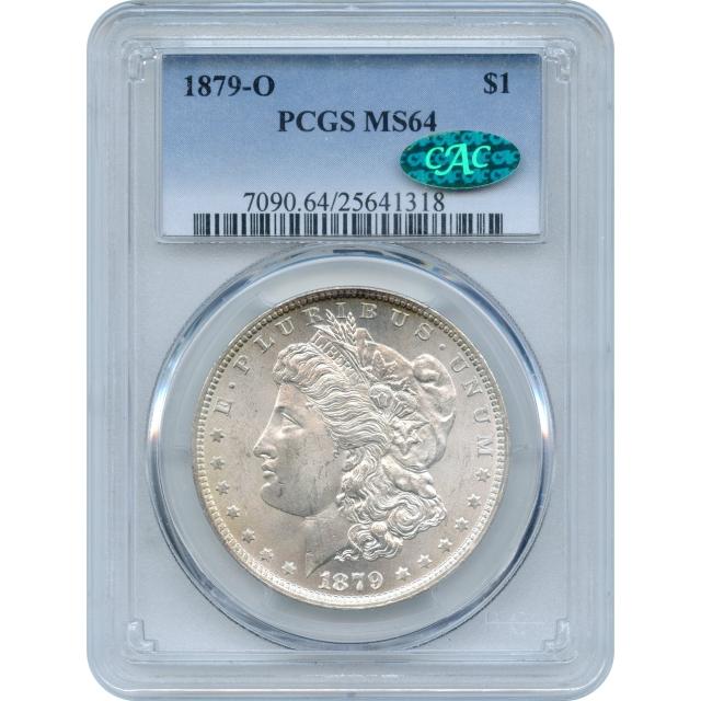 1879-O $1 Morgan Silver Dollar PCGS MS64 (CAC)