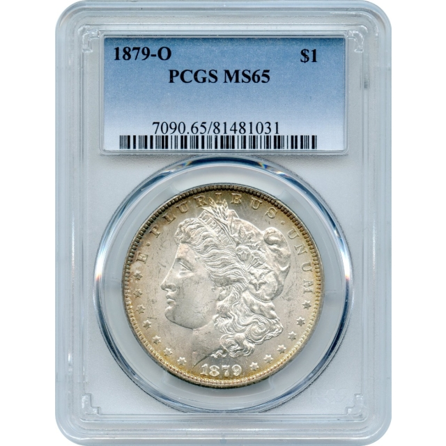 1879-O $1 Morgan Silver Dollar PCGS MS65