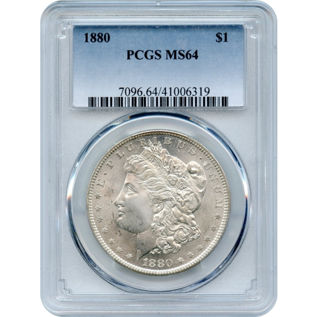 1880 $1 Morgan Silver Dollar PCGS MS64