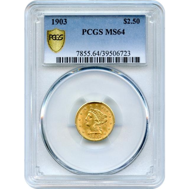 1903 $2.50 Liberty Head Quarter Eagle PCGS MS64