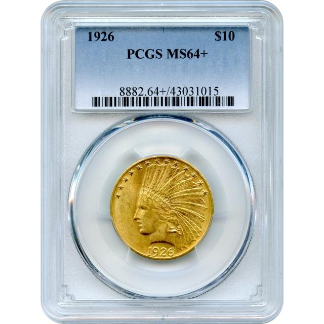1926 $10 Indian Head Eagle PCGS MS64+